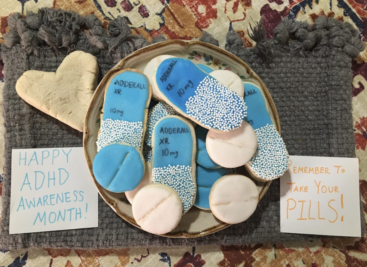 ADHD Awareness Month Cookies