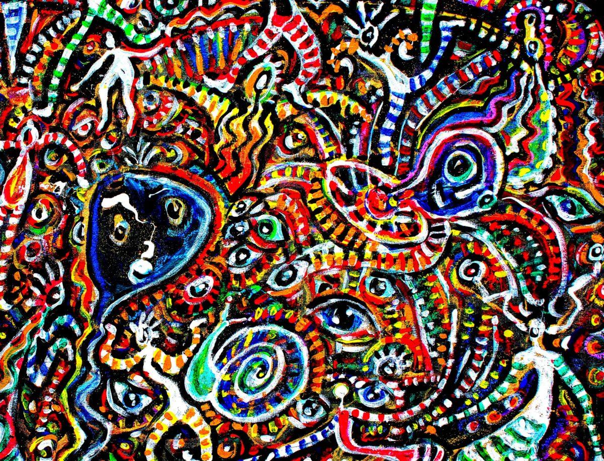 Doodle Dance art by Pip Ralph