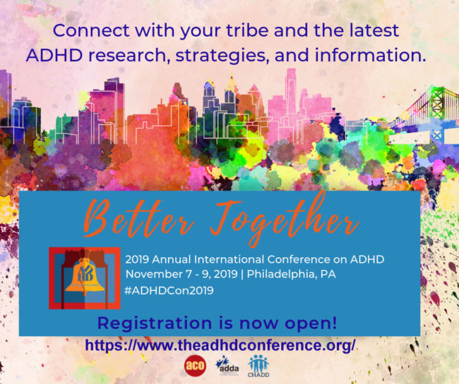 ADHD conference registration link
