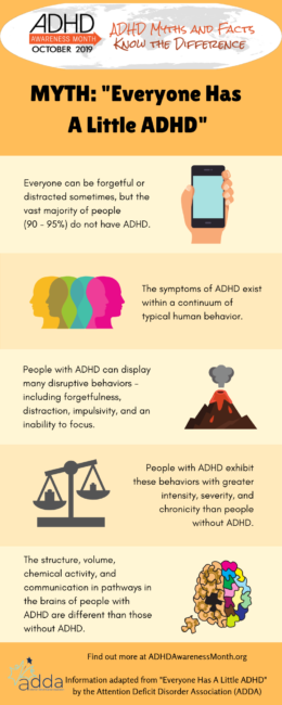 everyone has a little adhd