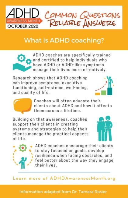 infographic adhd coaching