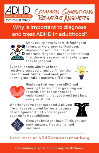 infographic diagnose adhd adults
